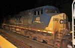 CSX 40 on Q438